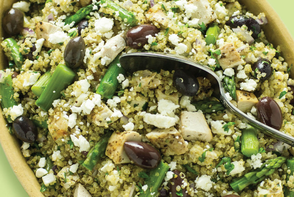 mediterranean chicken and quinoa recipe
