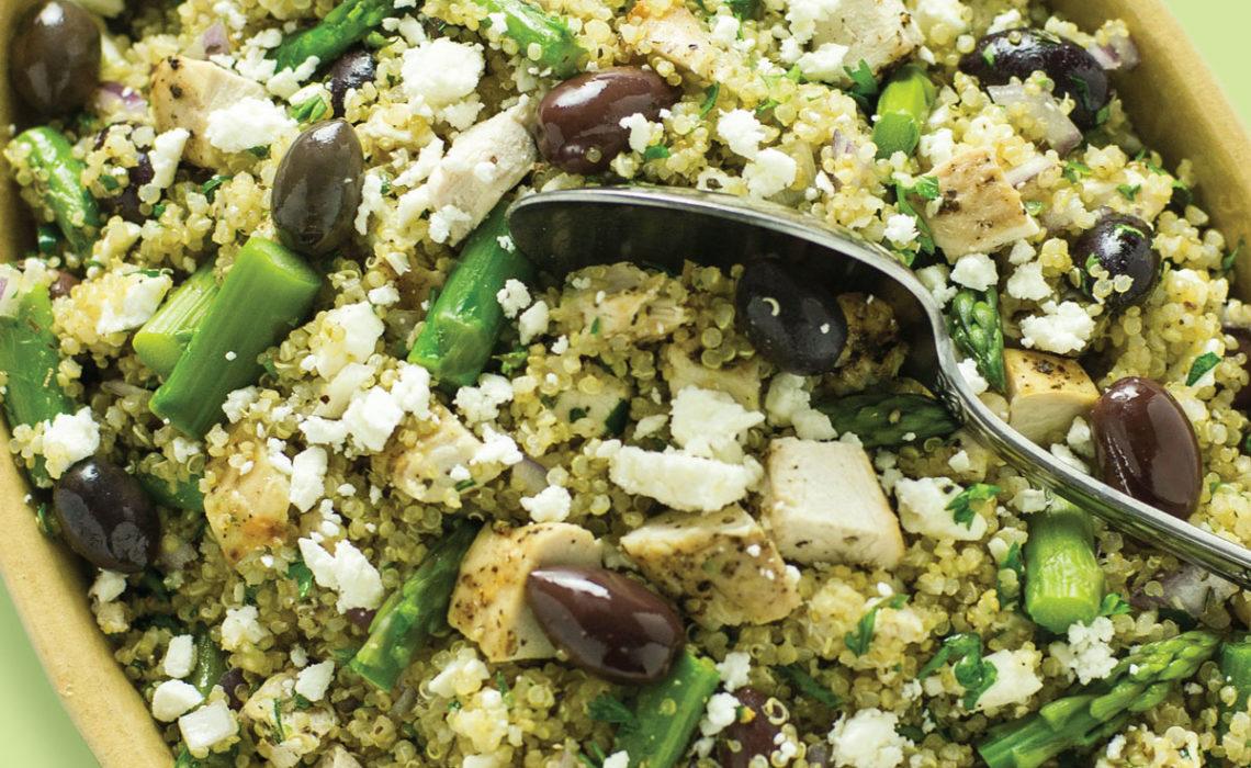 Mediterranean Chicken and Quinoa Salad