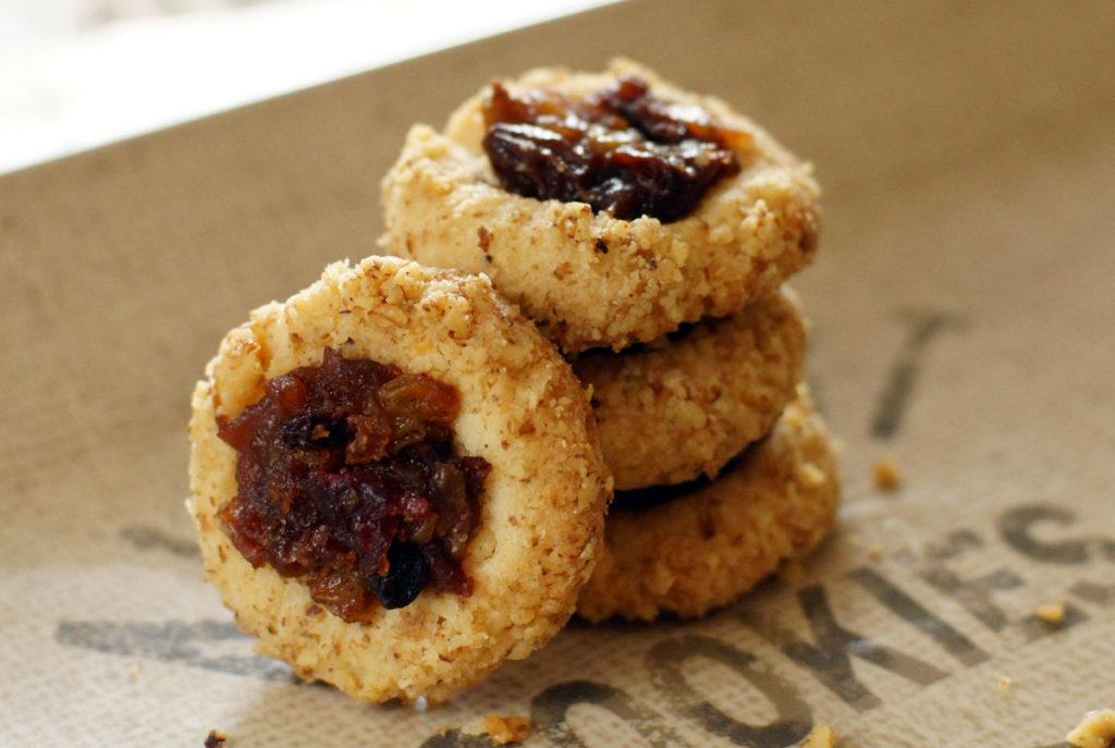 mincemeat thumbprint cookie recipe