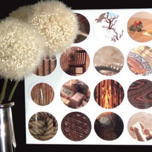 modern collage art craft diy