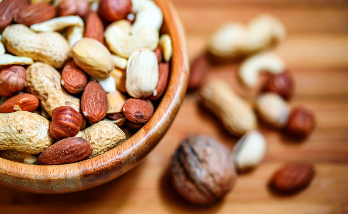 Know Your Food:  Nuts Infographic