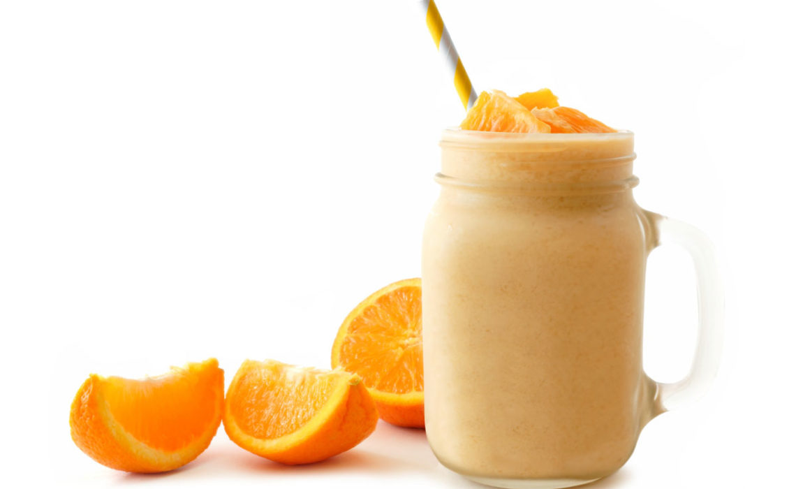 Spring Has Sprung:  Dreamsicle Smoothie