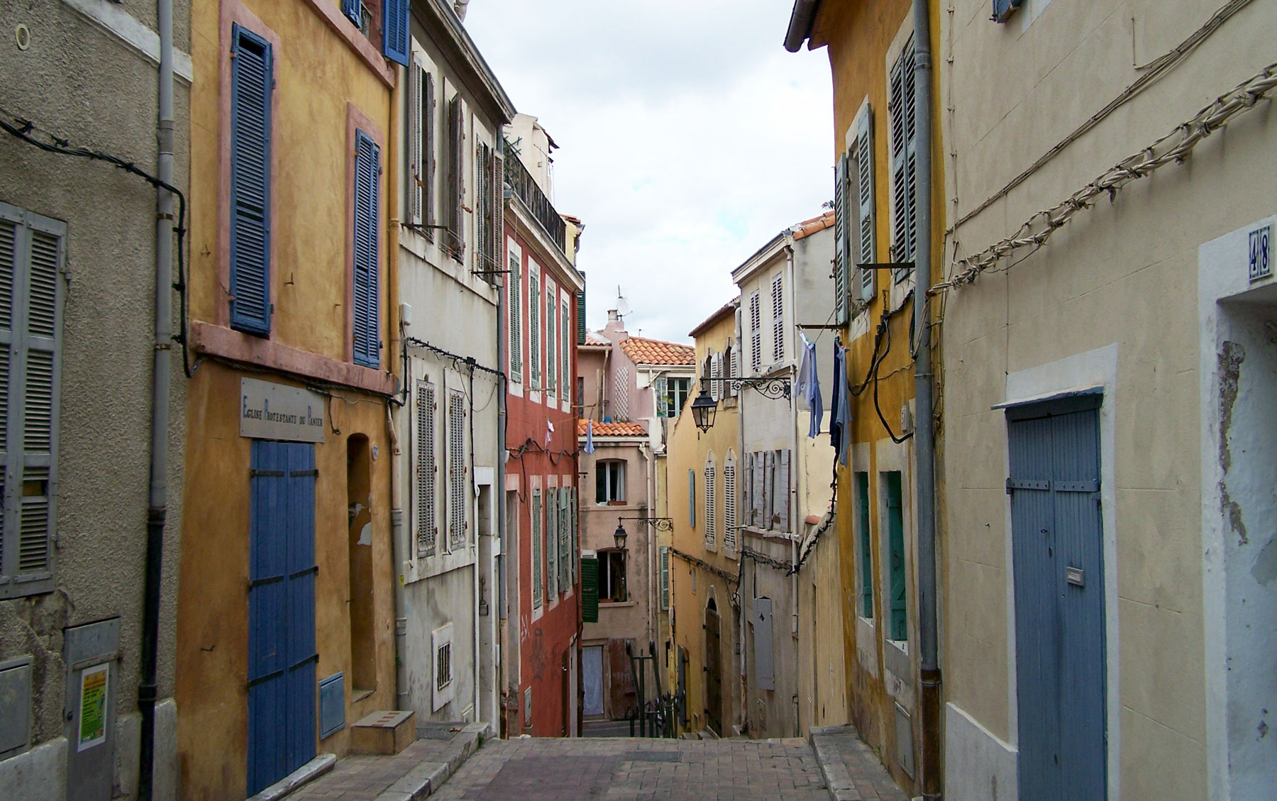 panier district in Marseille, France