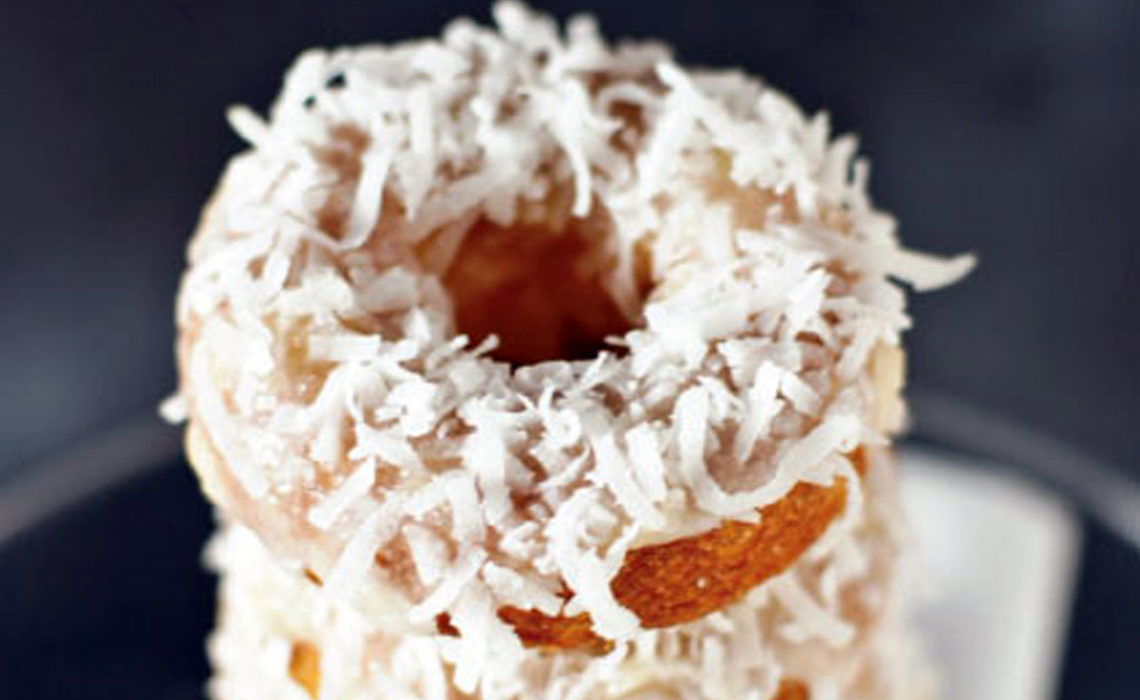 Treat of the Week:  Piña Colada Baked Doughnuts