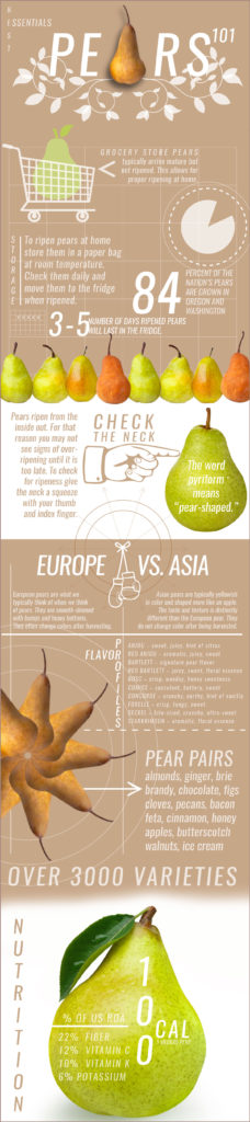 pear basics infographic
