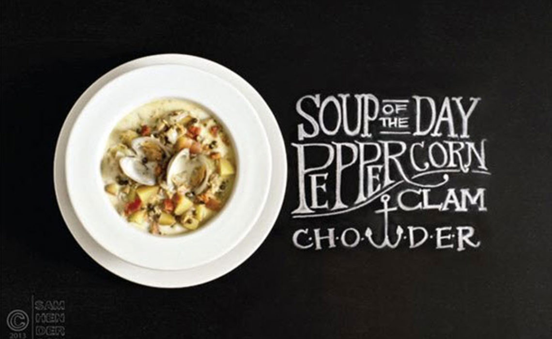 Soup of the Day: Peppercorn Clam Chowder