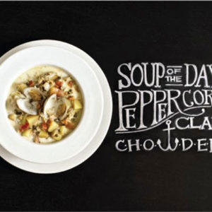 peppercorn clam chowder recipe