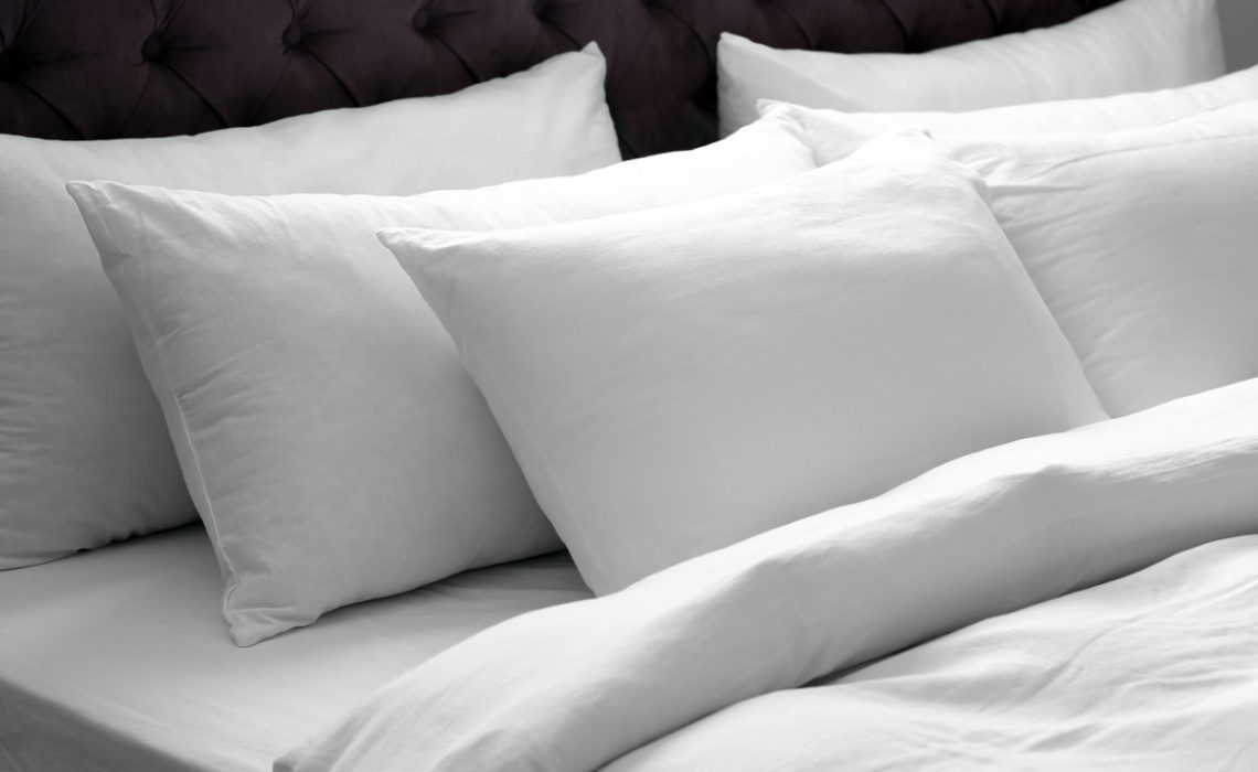 Spring Pleasures:  Line-Dried Pillowcases