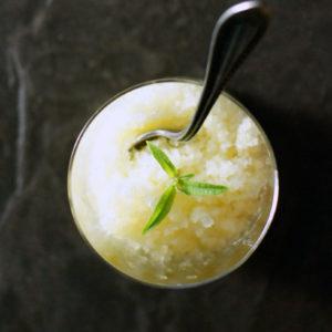 pineapple lemon verbena granita recipe