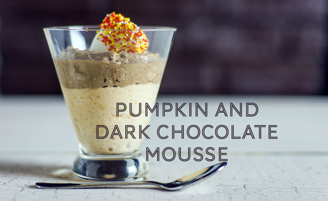 Treat of the Week: Pumpkin and Dark Chocolate Mousse