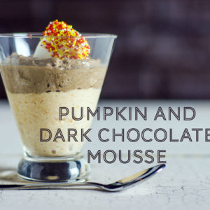 pumpkin and dark chocolate mousse recipe