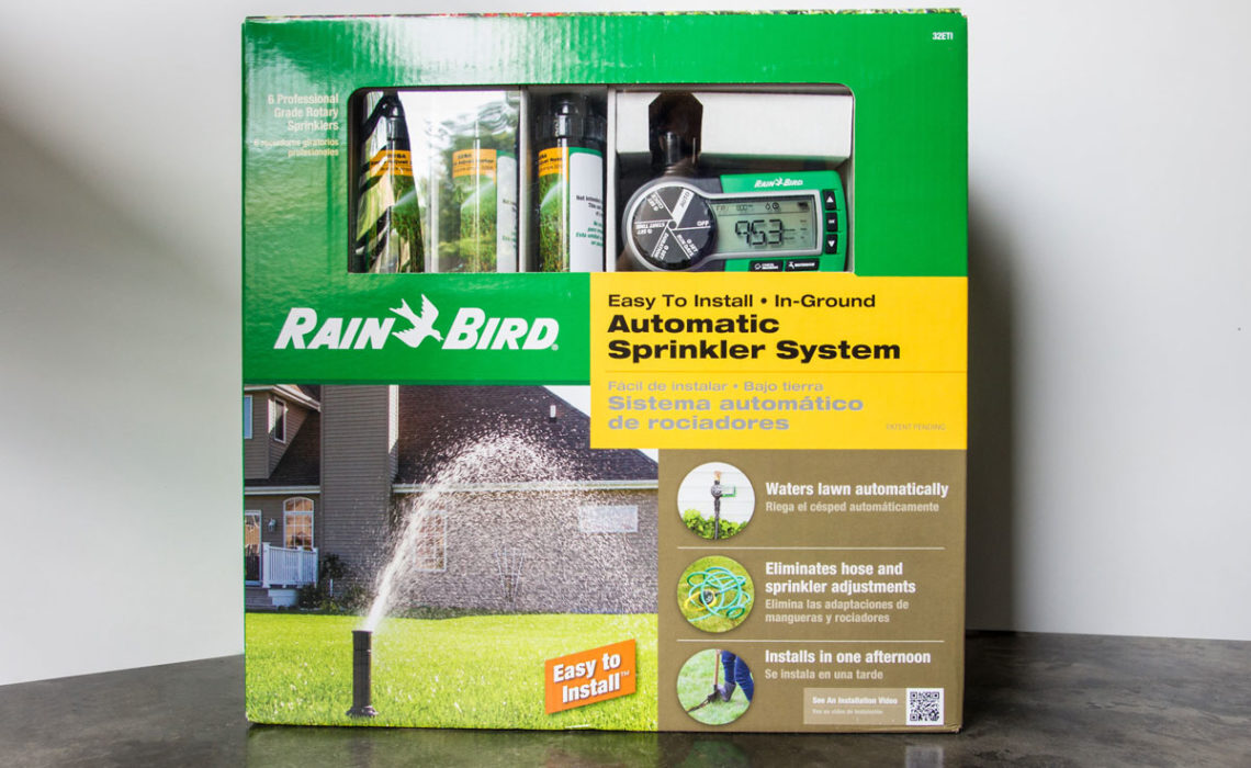 Product Review: Rain Bird Automatic Sprinkler System