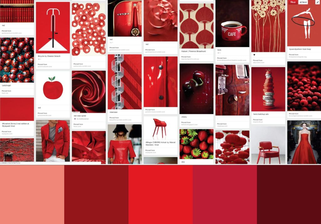 color story red