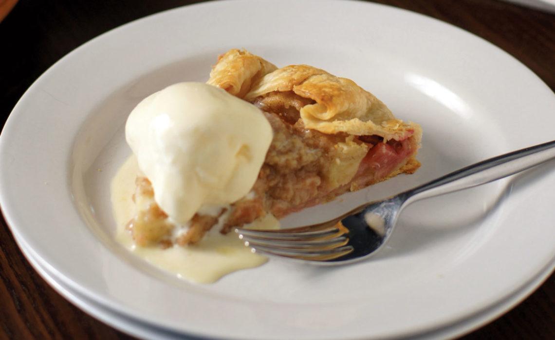 Treat of the Week: Rustic Apple Rhubarb Crostata