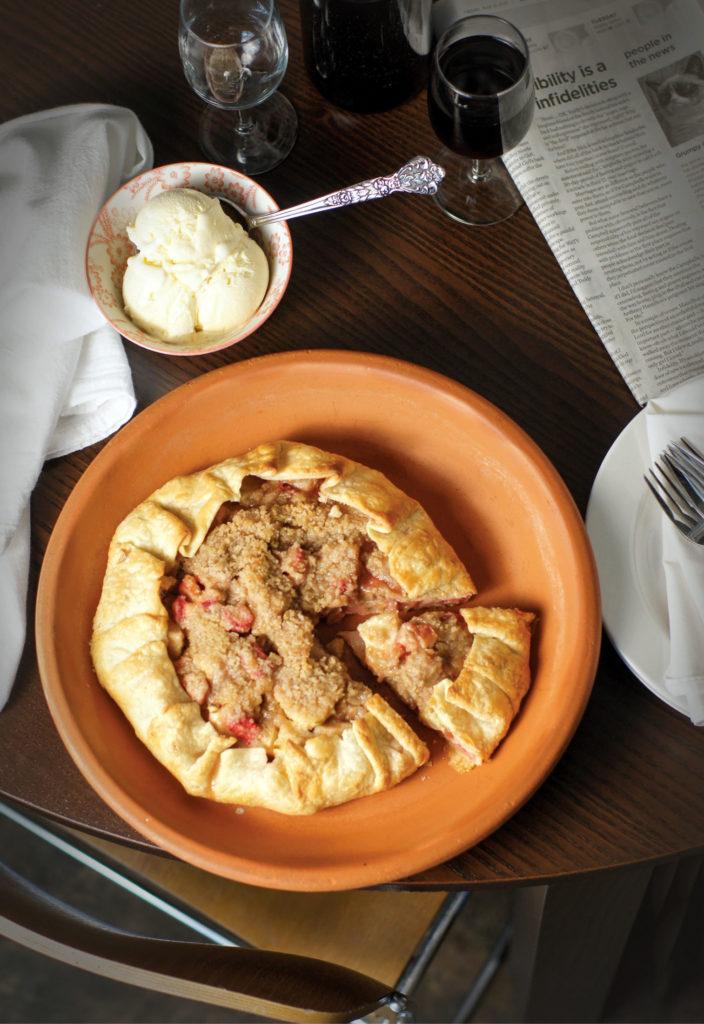 apple rhubarb crostata recipe