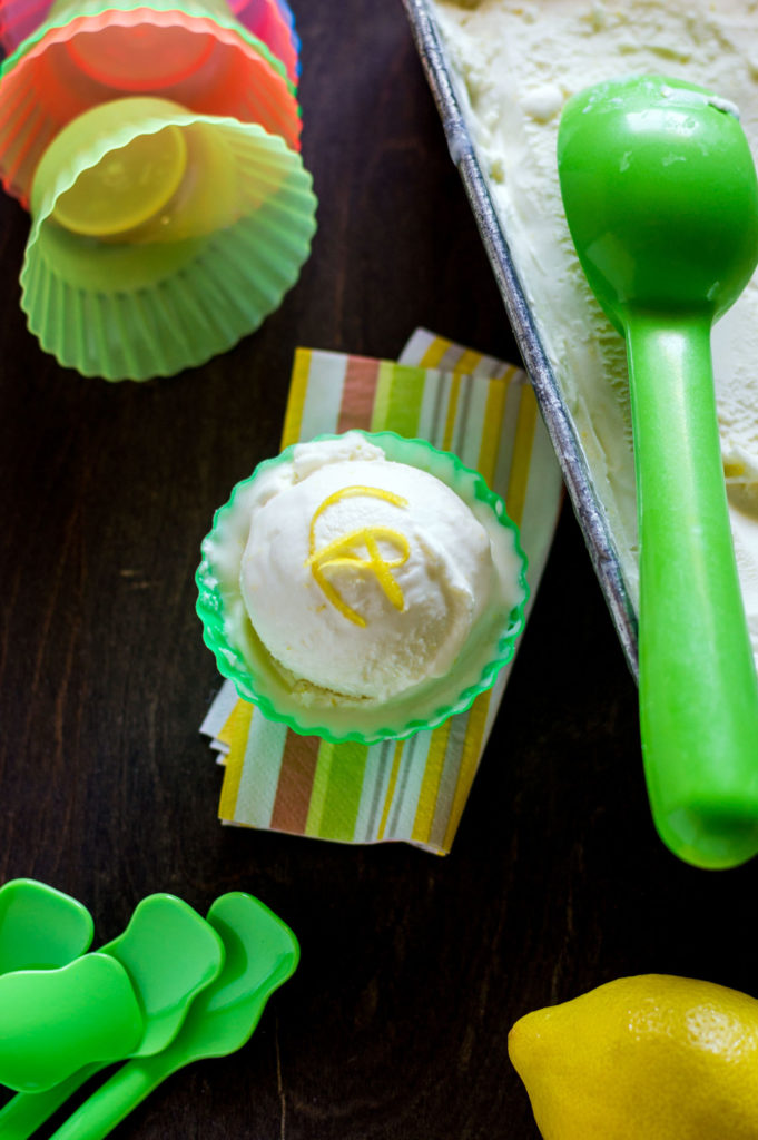 lemon ricotta ice cream recipe