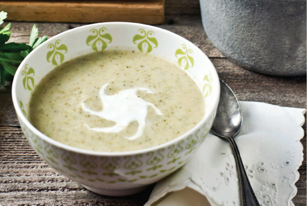 roasted broccoli and cauliflower soup recipe