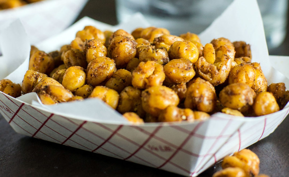 Healthier Snacking: Roasted Chickpeas