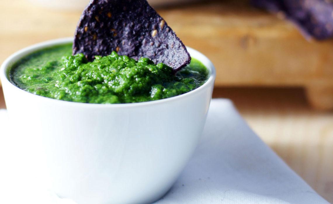 Hot and Green:  Salsa Verde
