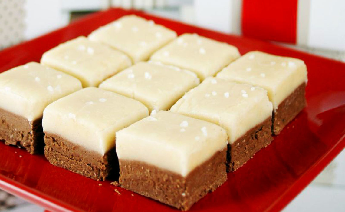 Treat of the Week: Salted Caramel Chocolate Fudge
