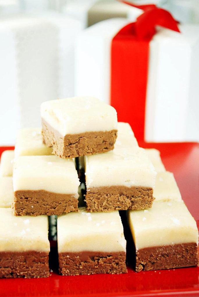 salted caramel chocolate fudge recipe