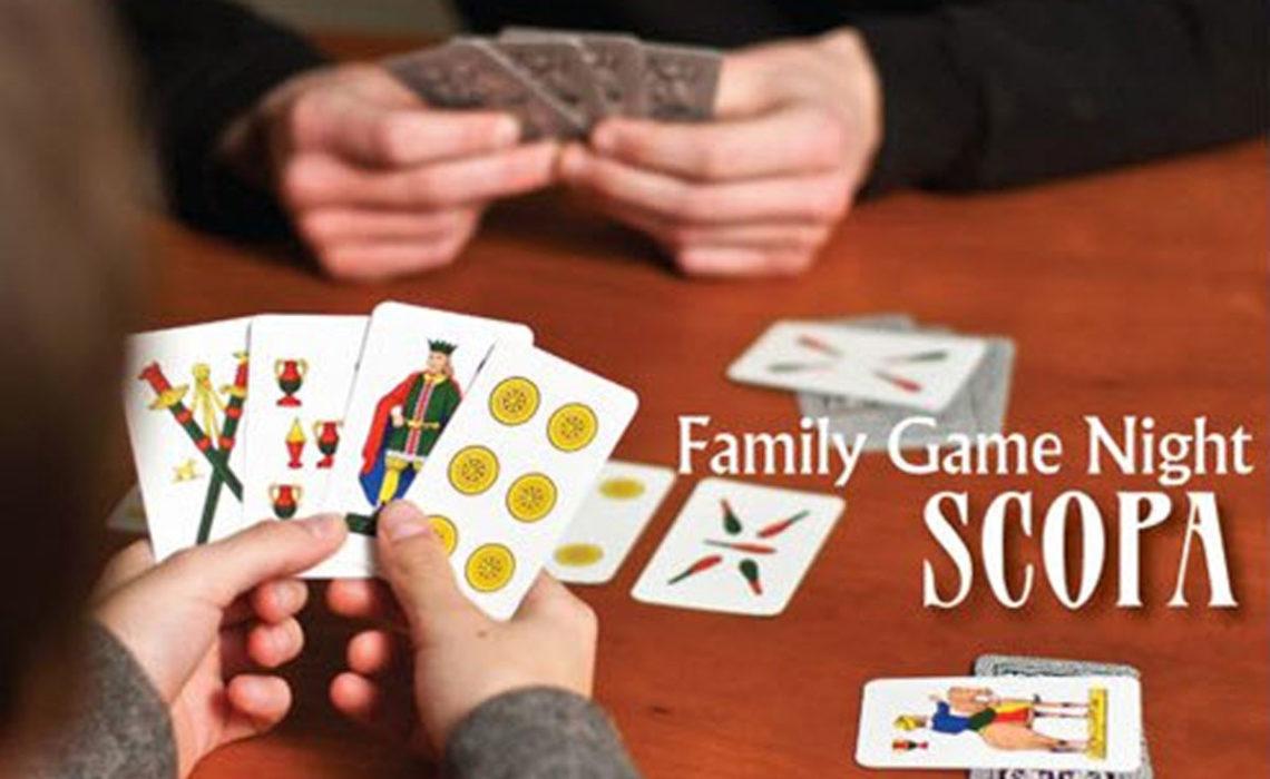 Family Game Night: Scopa