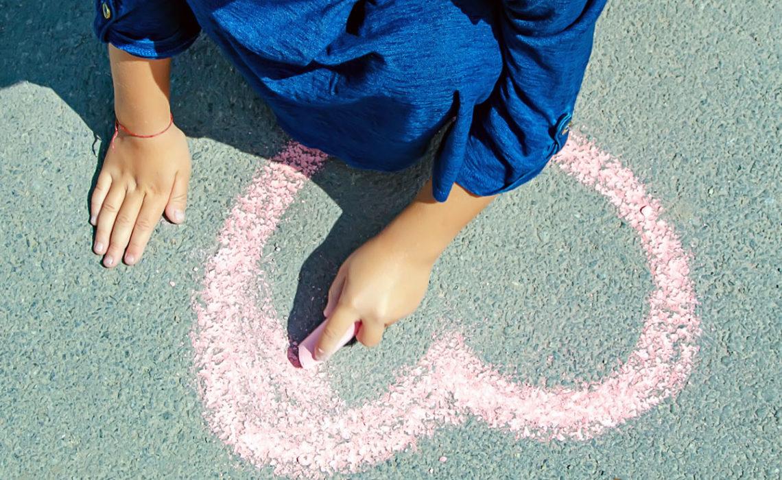 Summer Fun:  Sidewalk Chalk