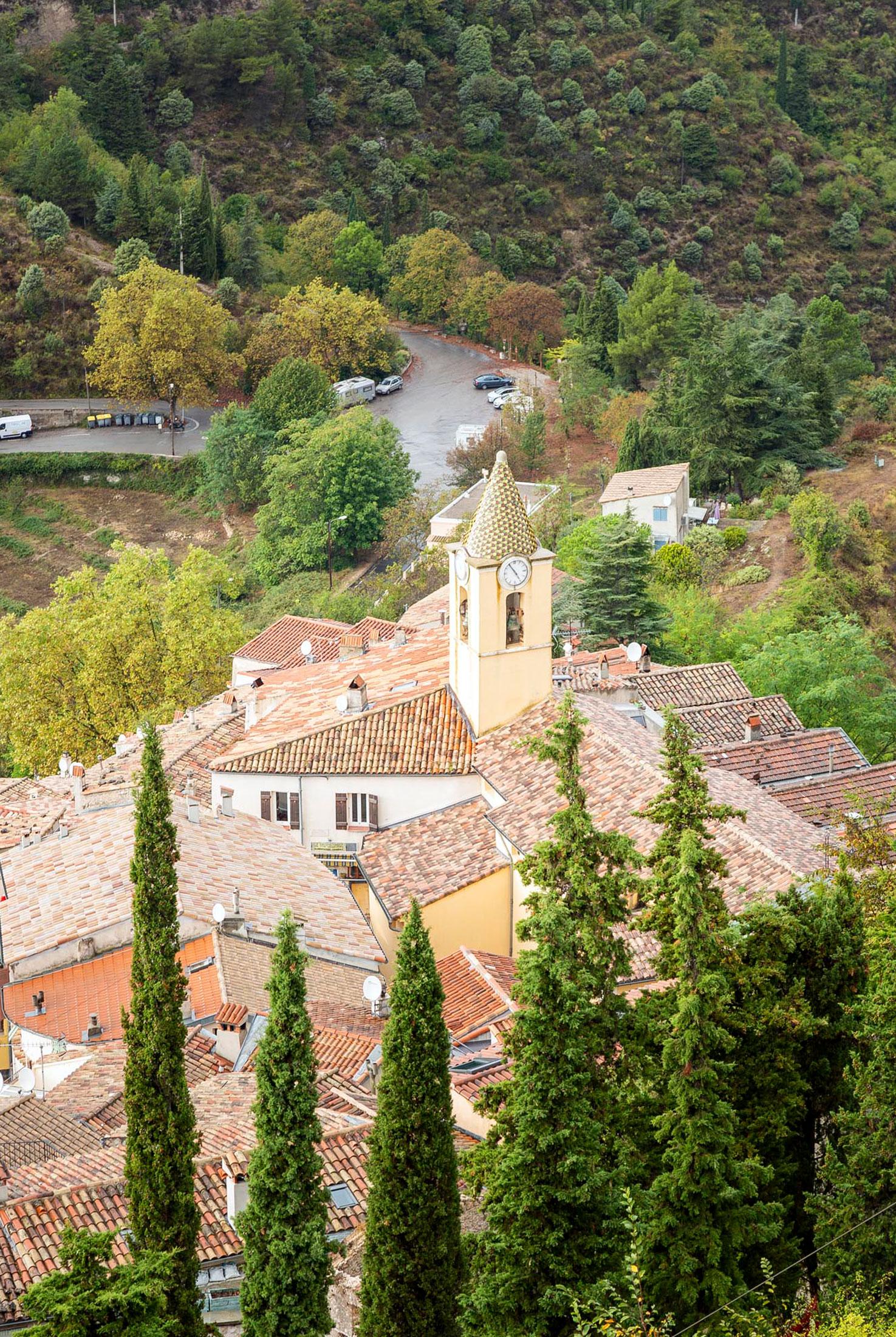 perched villages of côte d'azur - sainte agnès