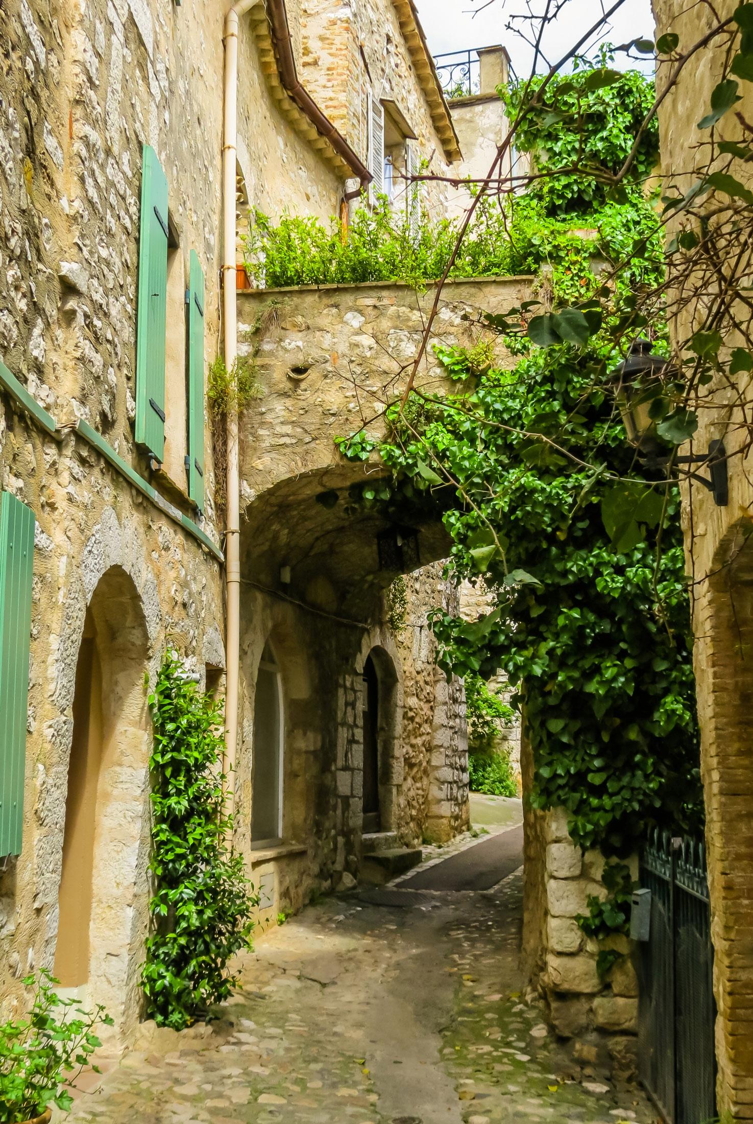 perched village - st paul de vence, france