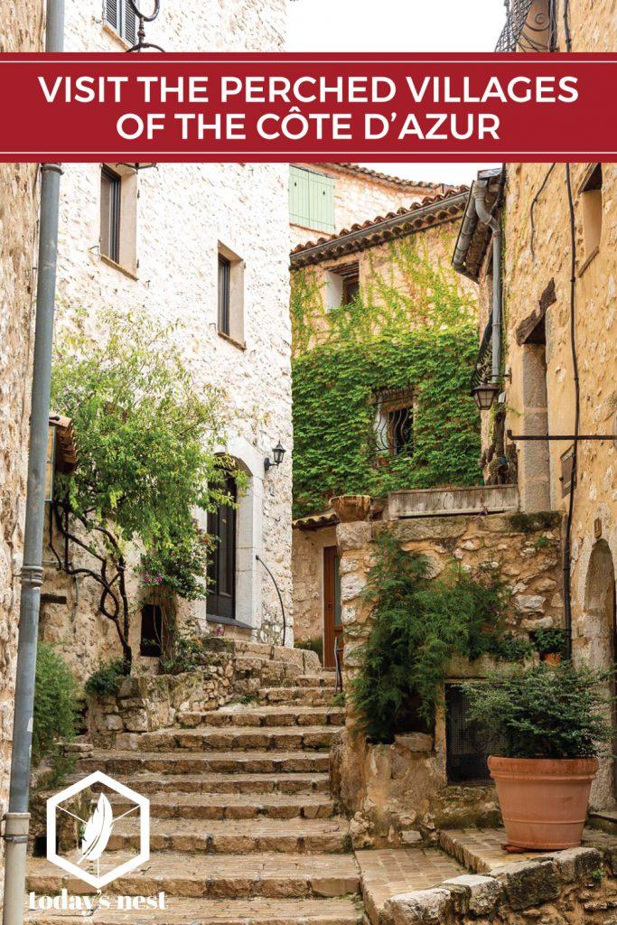perched villages cote d'azur