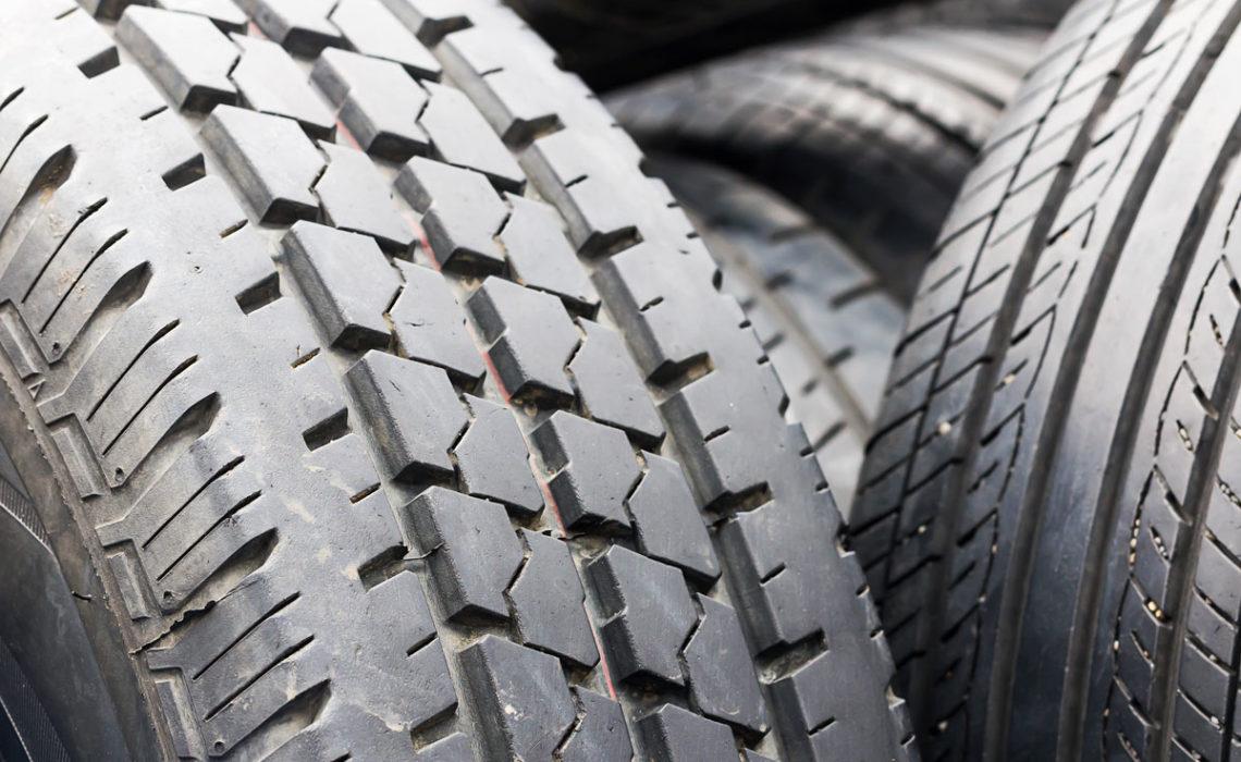 Big Wheels Keep On Turning:  Tire Gardens