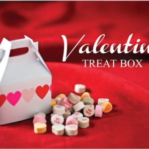valentine gift box printable template