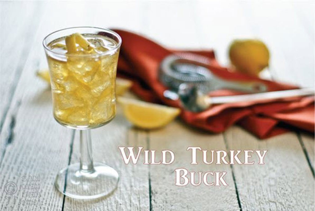 wild turkey buck cocktail recipe