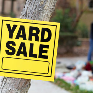 yard sale basics